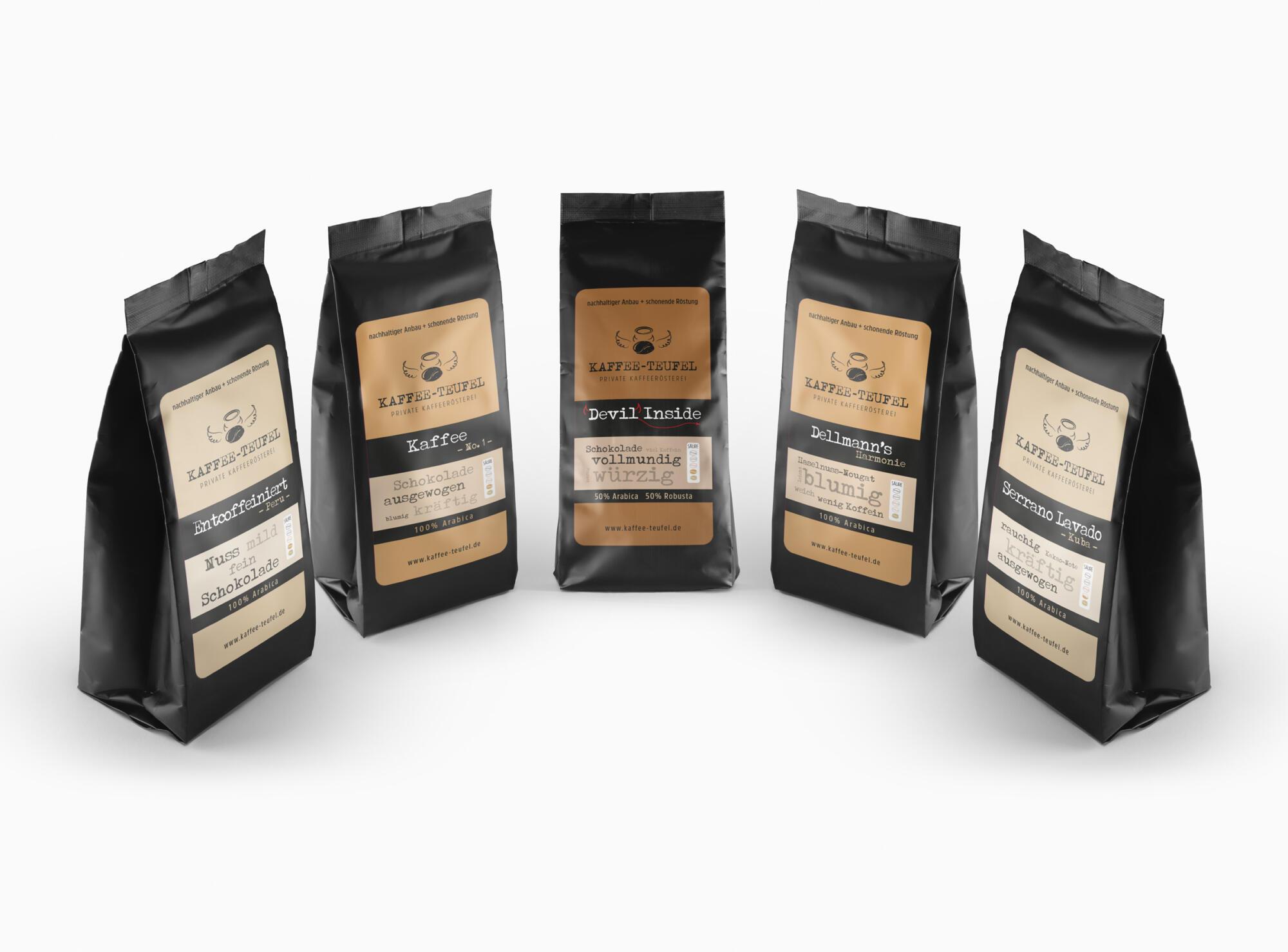 KAFFEE TEUFEL Produktdesign