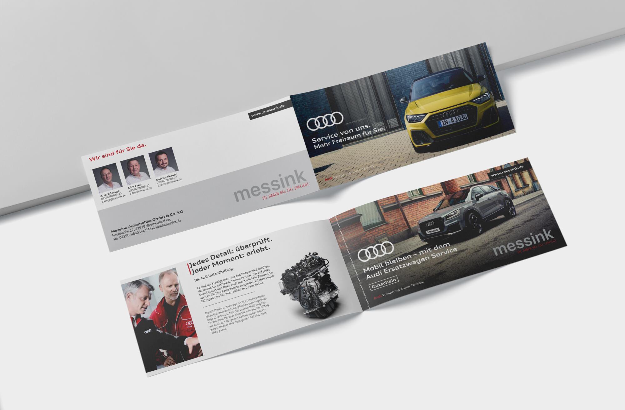 Messink Audi Service Flyer